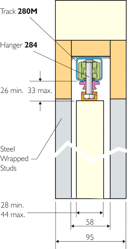 Sliding door plan drawing at free for for Sliding door plan view