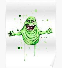 210x230 Slimer Drawing Posters Redbubble