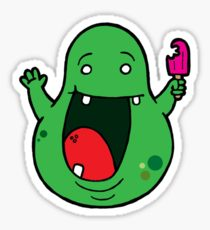 210x230 Slimer Drawing Stickers Redbubble