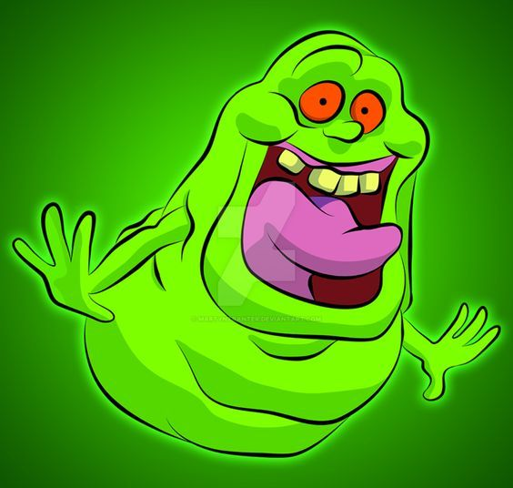564x536 Was Bored So I Decided To Draw Slimer!, Also Did The Coloring