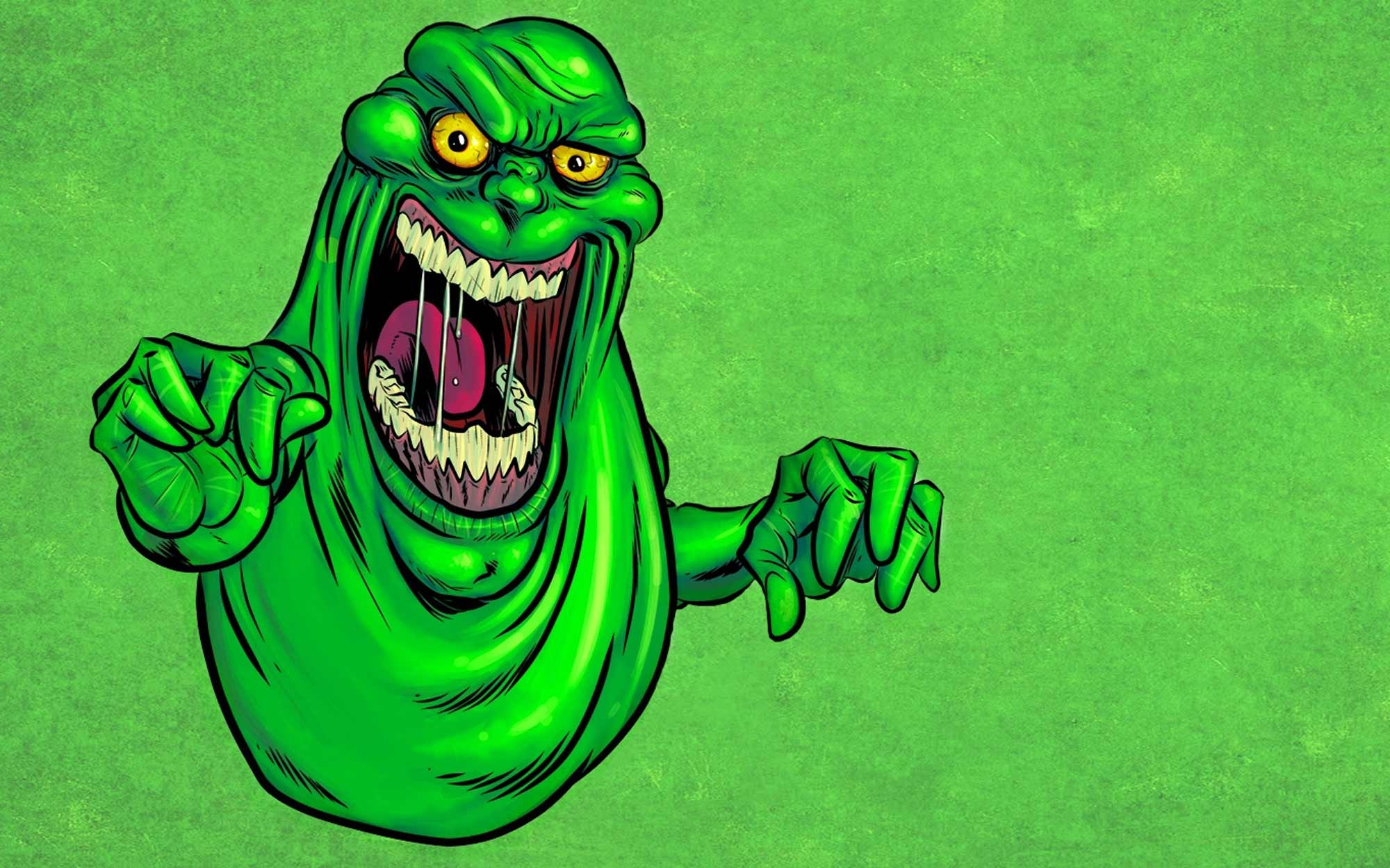 2000x1250 Ghostbusters Is Back With Slimer, The Second Of Three Silver Coins