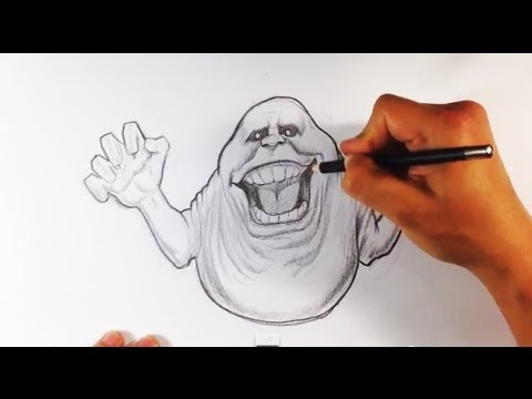 480x360 How To Draw Slimer From Ghostbusters