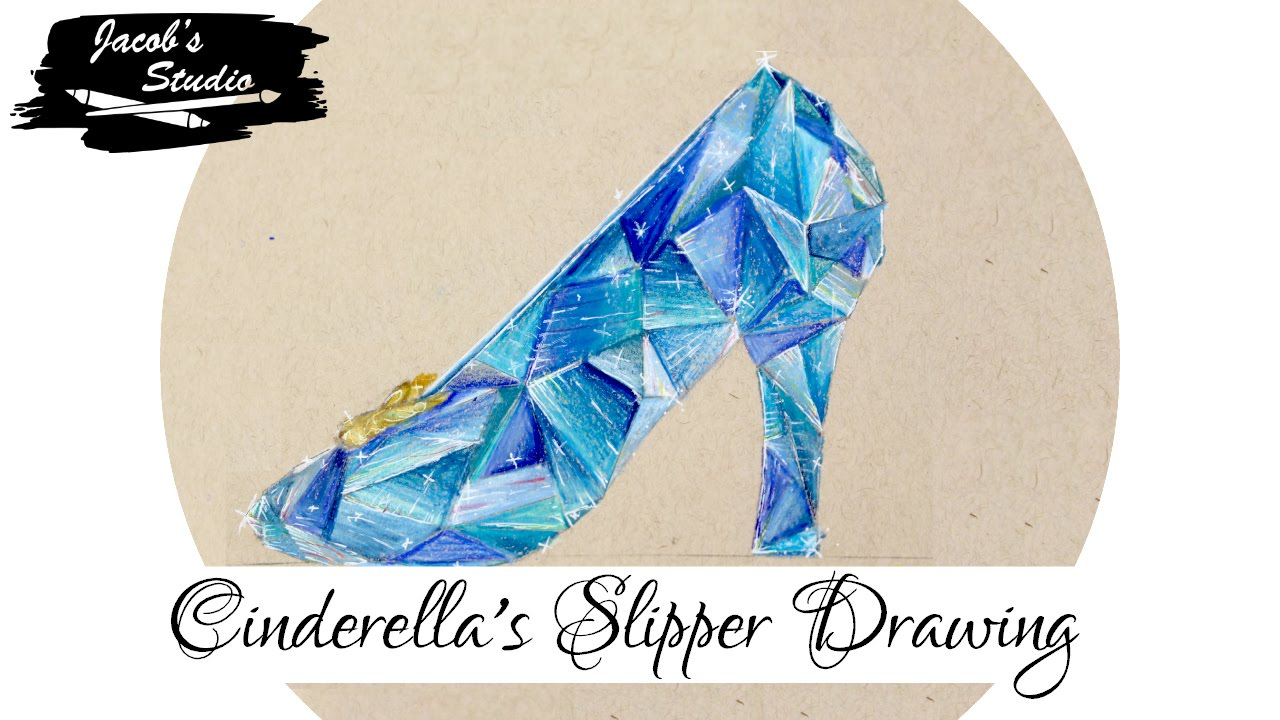 1280x720 Cinderella's Slipper Drawing Jacob's Studio