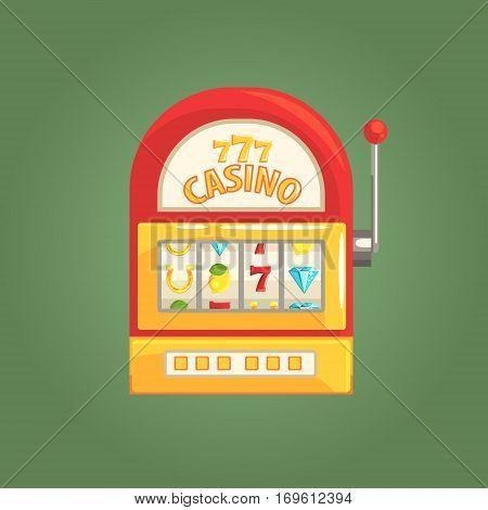 450x470 One Armed Bandit Slot Machine, Vector Amp Photo Bigstock