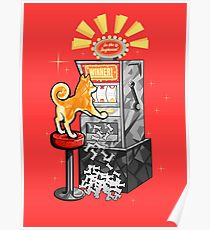 210x230 Slot Machine Drawing Posters Redbubble