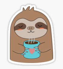 210x230 Cute Sloth T Shirt Drawing Stickers Redbubble