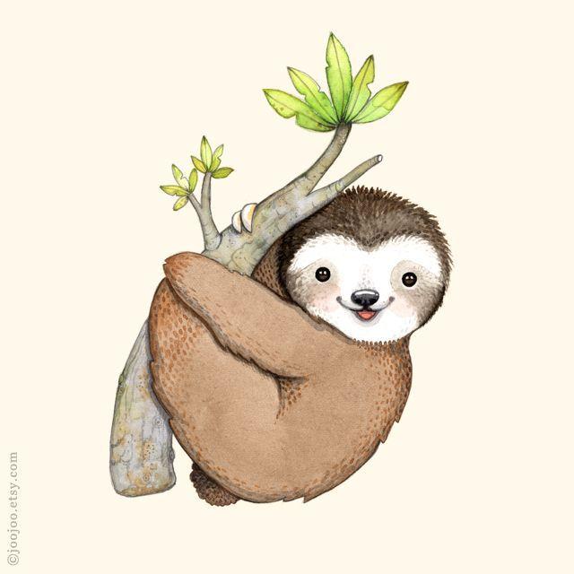 640x640 Resultado De Imagen De Sloth Illustration Cuevasmari 24@yahoo
