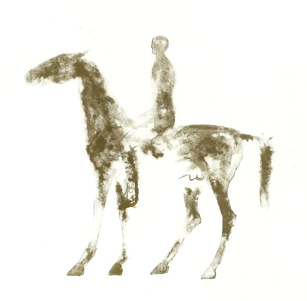 1019x1000 Dame Elisabeth Frink, Small Horse And Rider, 1970 Zuleika