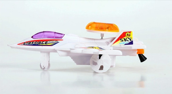 600x327 2017 2015 Luminous Toy Wire Drawing Small Plane Fancy Toy