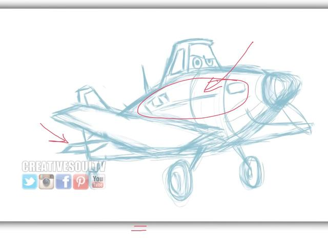 640x480 How To Draw Dusty From Disney's Animated Movie Planes