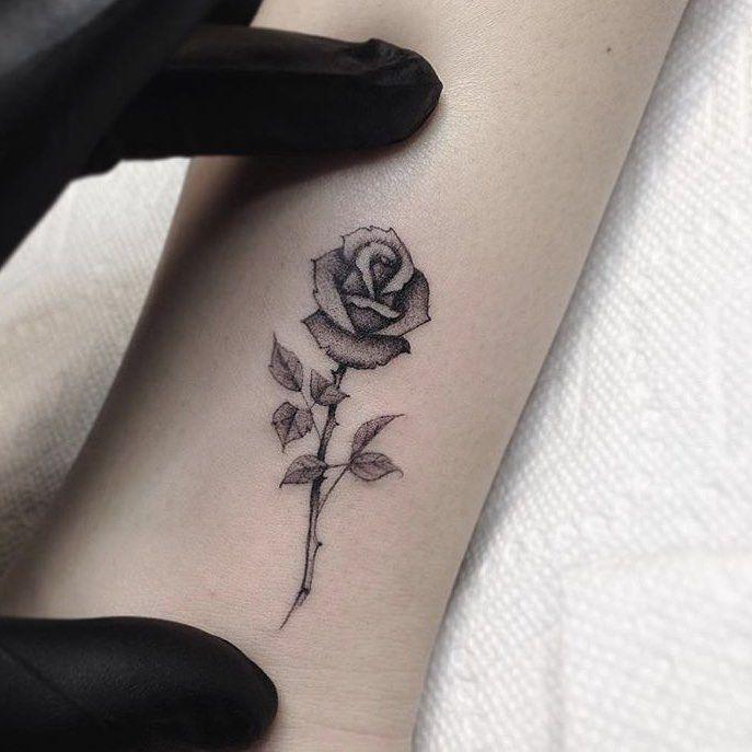 Small Rose Drawing At GetDrawings