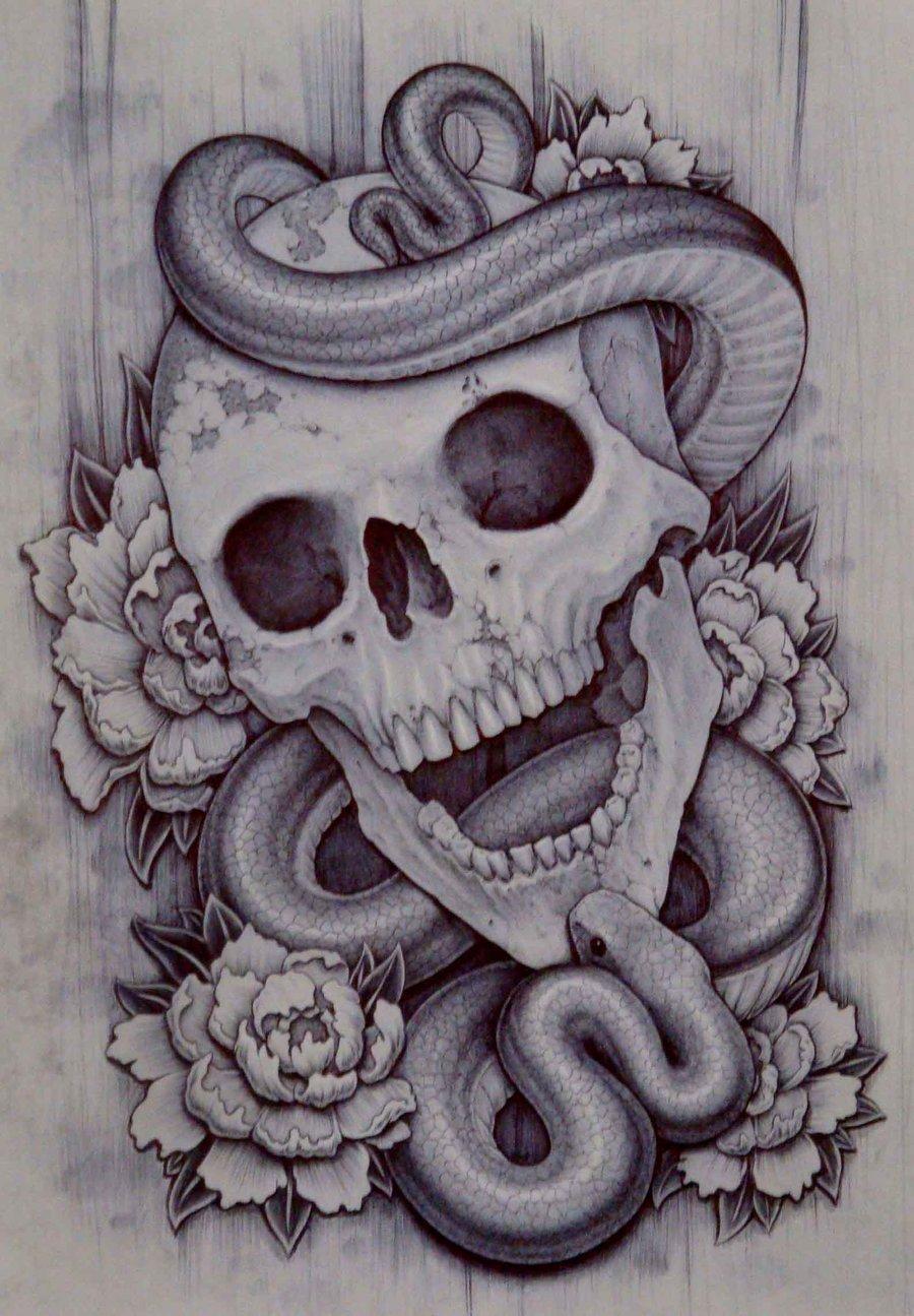 900x1295 Drawings Of Skulls With Smoke