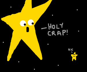 300x250 Big Star Is Shocked To See Small Star
