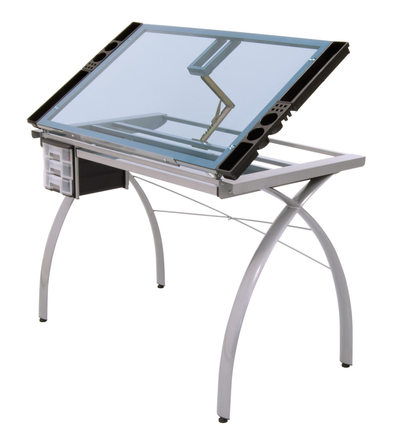 1378x1500 Alvin Craftmaster Ii Glass Top Craft And Drawing Table Cm Gl