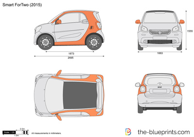 Smart car drawing at getdrawings free for personal use smart 400x283 smart fortwo vector drawing malvernweather Image collections
