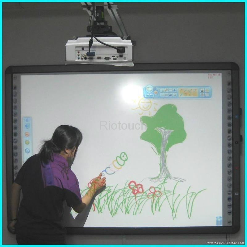 800x800 Riotouch Dual Touch Infrared Interactive Drawing Board For Smart