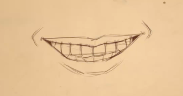 598x313 Discover How To Draw Teeth For Beginners In This Fun Video Course