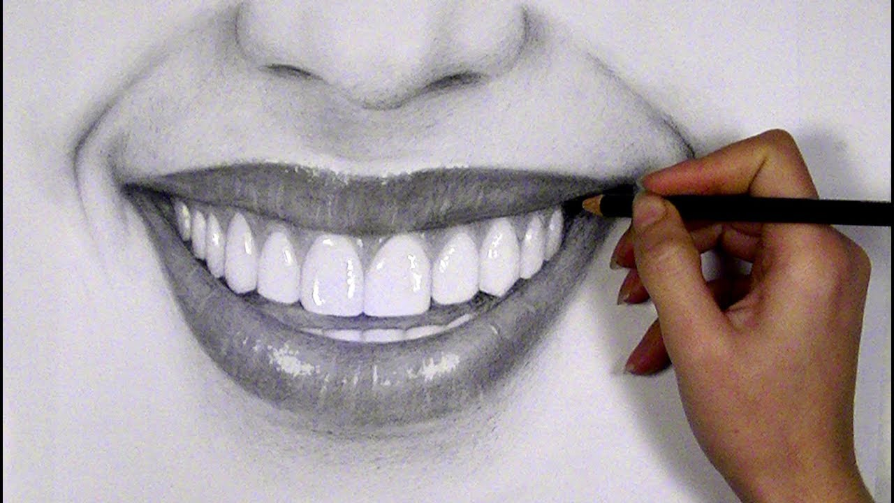 1280x720 Drawing An Amazing Smile 11 16 11lapsedrawing