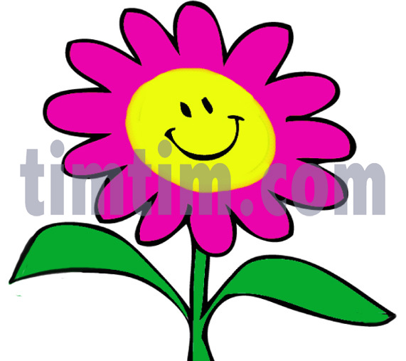 571x507 Free Drawing Of Flower Face Smiley From The Category Climate