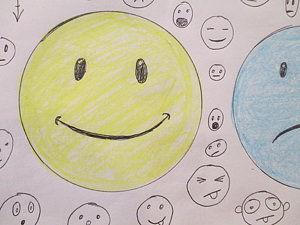 300x225 Smiley Face Drawings