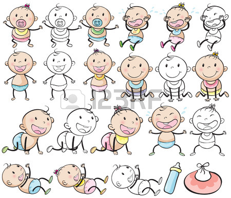 450x386 Baby Drawing Stock Photos. Royalty Free Business Images