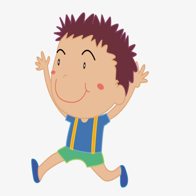 650x651 Vector Drawing Smiling Face Running Boy, Draw, Smile, Expression