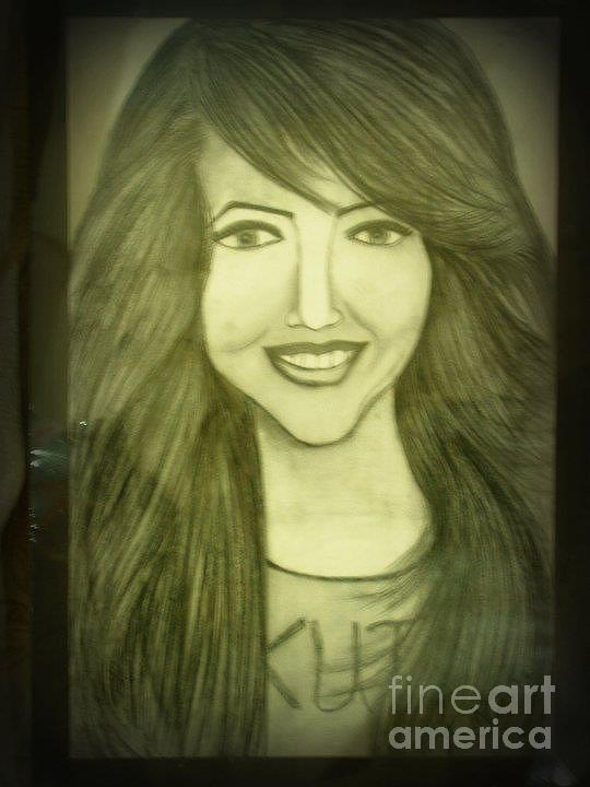 540x720 Smile Face Drawing By Kanzah Rao