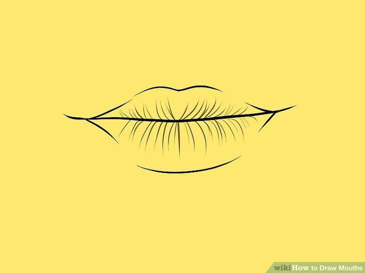 728x546 4 Ways to Draw Mouths