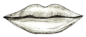 350x151 How To Draw Human Lips
