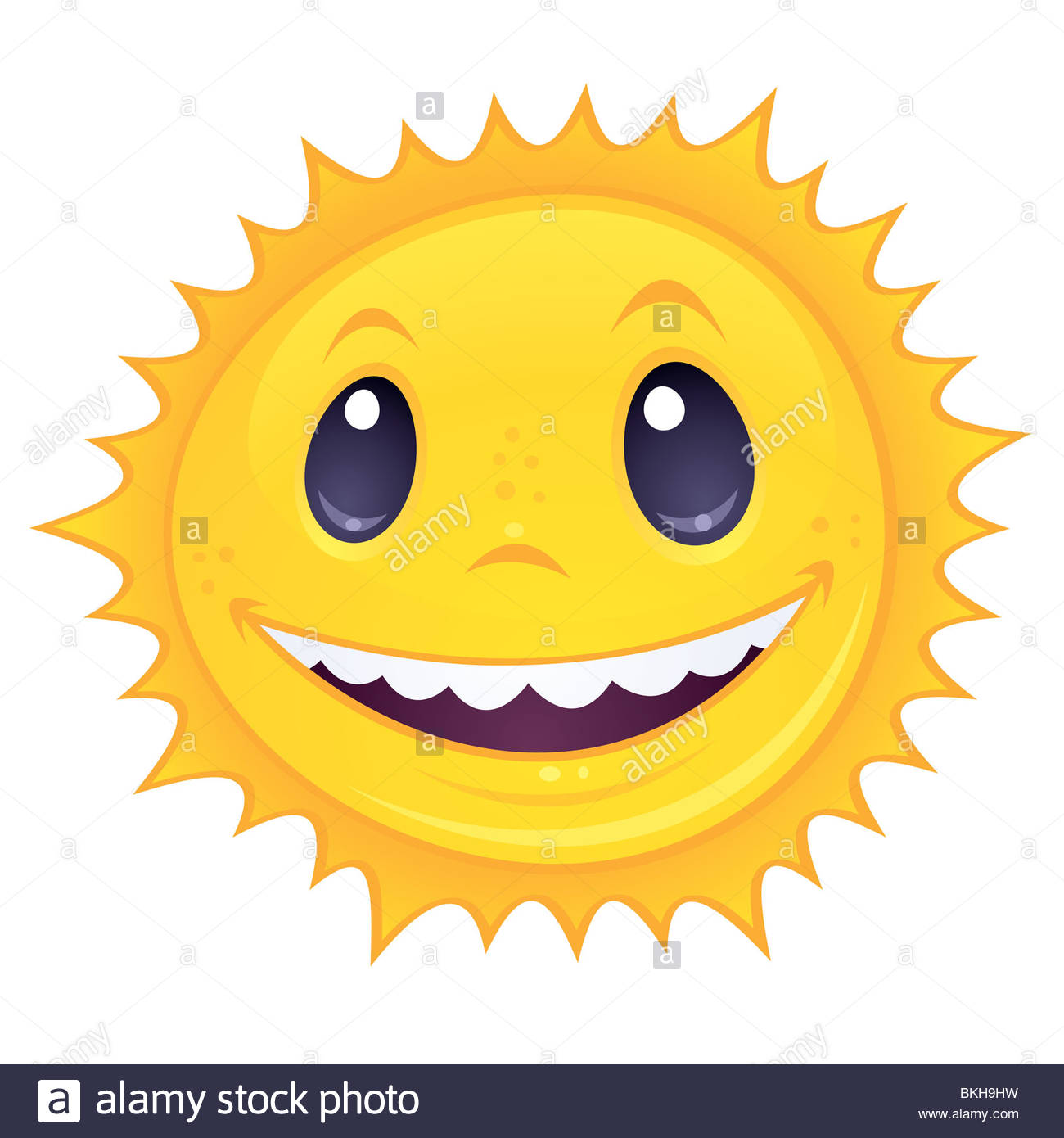 1300x1390 Smiley Sun. Vector Cartoon Drawing Of A Happy, Smiling Sun. Great