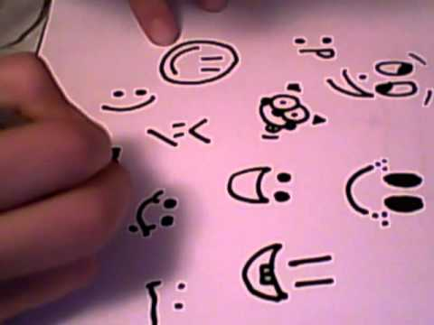 480x360 15 Smiley Faces To Draw.