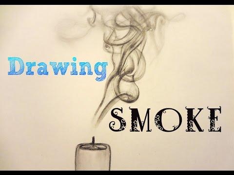 480x360 Photos Draw Smoke Clouds In Pencil,