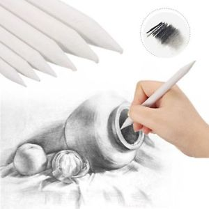 300x300 White Sketch Tool Smudge Art Drawing Pen Tortillon Drawing Tool