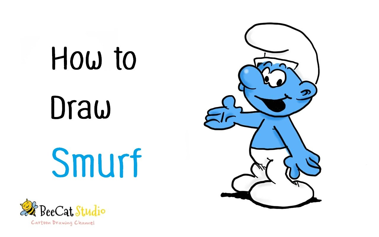 1280x800 How To Draw A Smurf