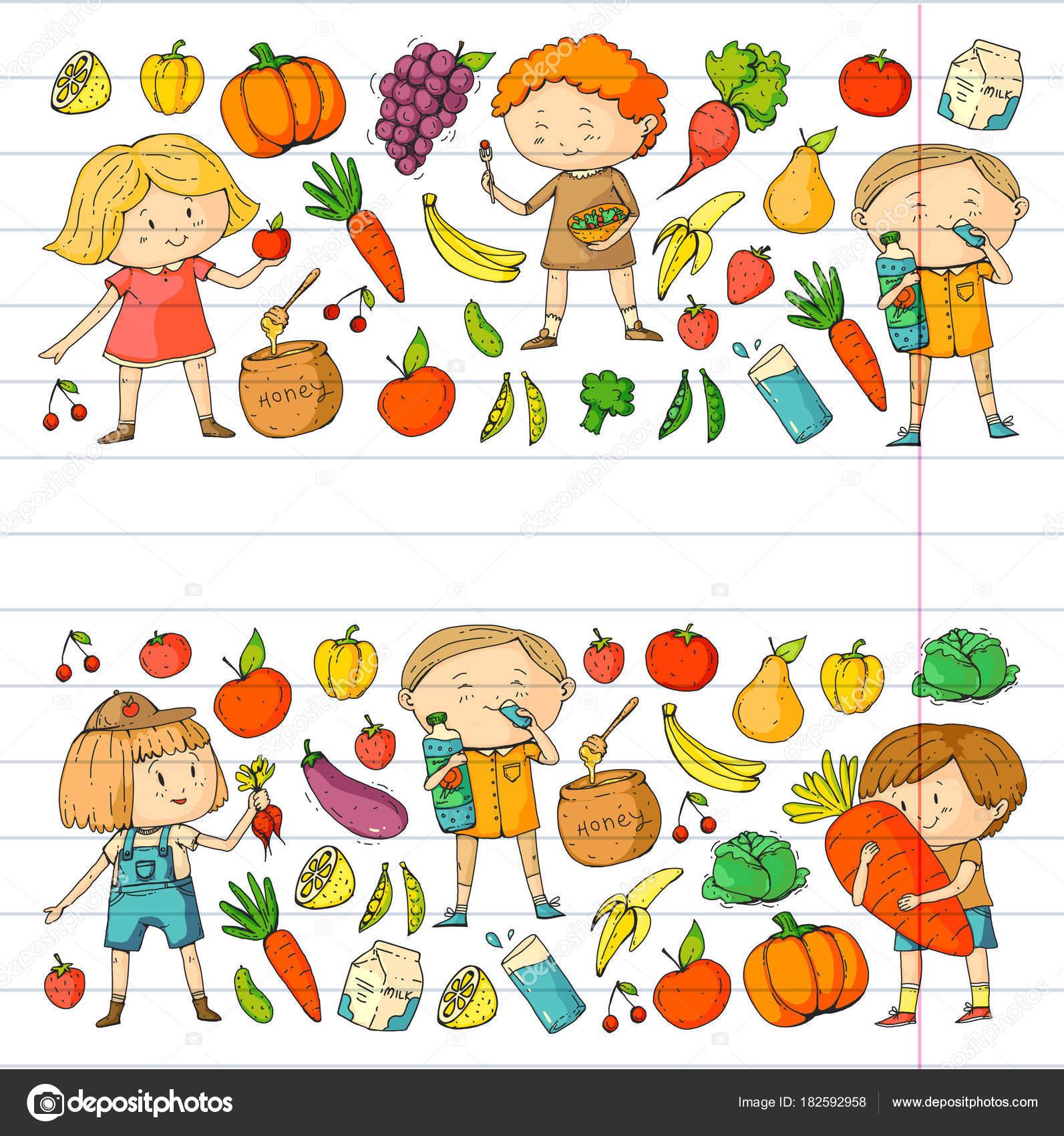1593x1700 School And Kindergarten. Healthy Food And Drinks. Kids Cafe