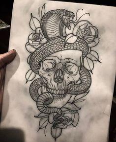 236x290 skull snake roses by davart11 d344o2q.jpg 900×1,403 pixels
