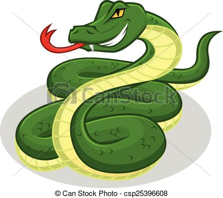 450x400 Snake Cartoon. This Image Is A Snake In Cartoon Illustration