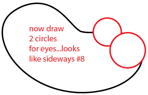 500x322 How to Draw a Cartoon Snake with Easy Step by Step Drawing