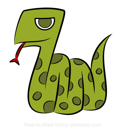 420x446 Snake drawings (Sketching + vector)