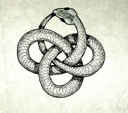 500x440 Snake Eating Itself Symbol The Cult Of Eternity's Path Steal