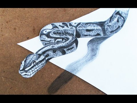 Snake Pencil Drawing at GetDrawings   Free download