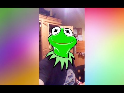 480x360 Tutorial Kermit The Frog Snapchat Drawing!
