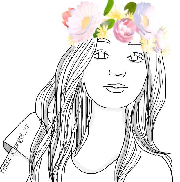 620x626 Girl Snapchat Filter Flowercrown Love Cute Cool Nice