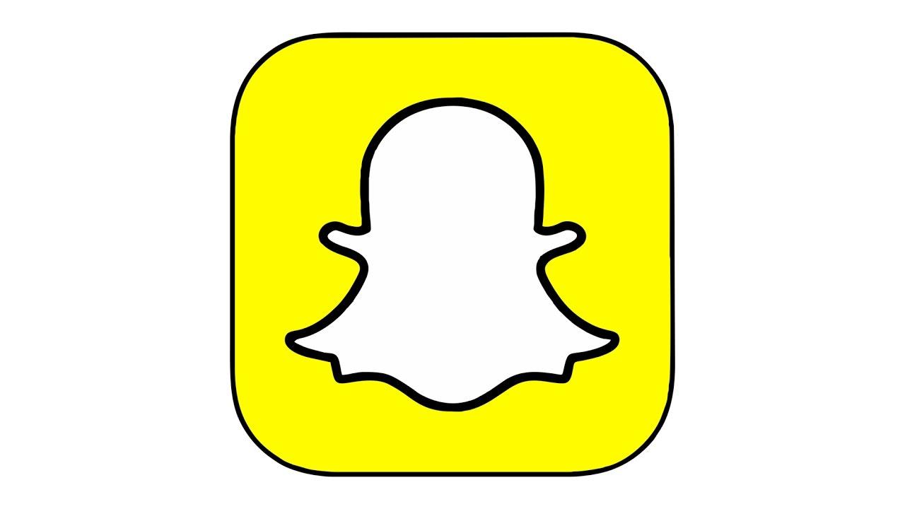 1280x720 How To Draw The Snapchat Logo (Symbol)