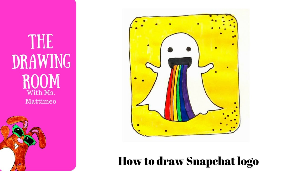 photo relating to Printable Snapchat Logo named Snapchat Emblem Drawing at  Totally free for specific