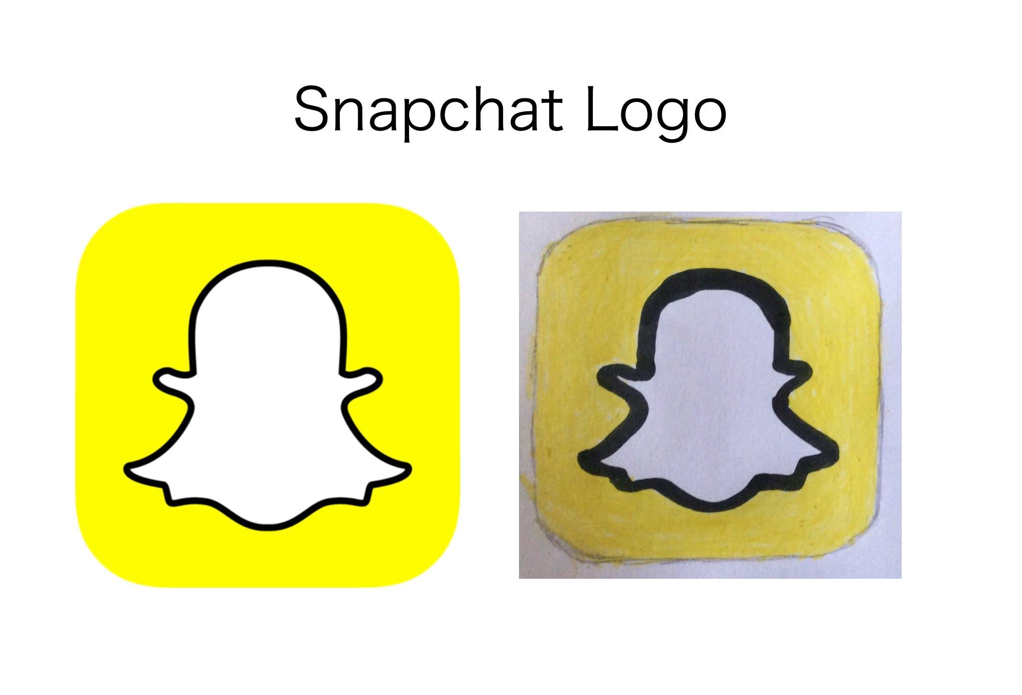 2048x1393 Snapchat Logo Drawing
