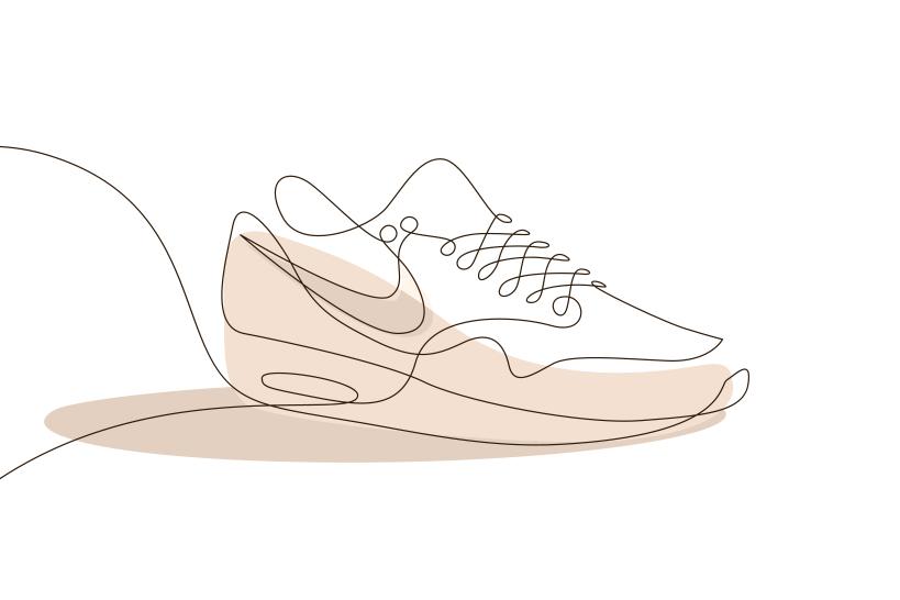 819x546 Differantly Studios One Line Sneaker Drawings Hypebeast