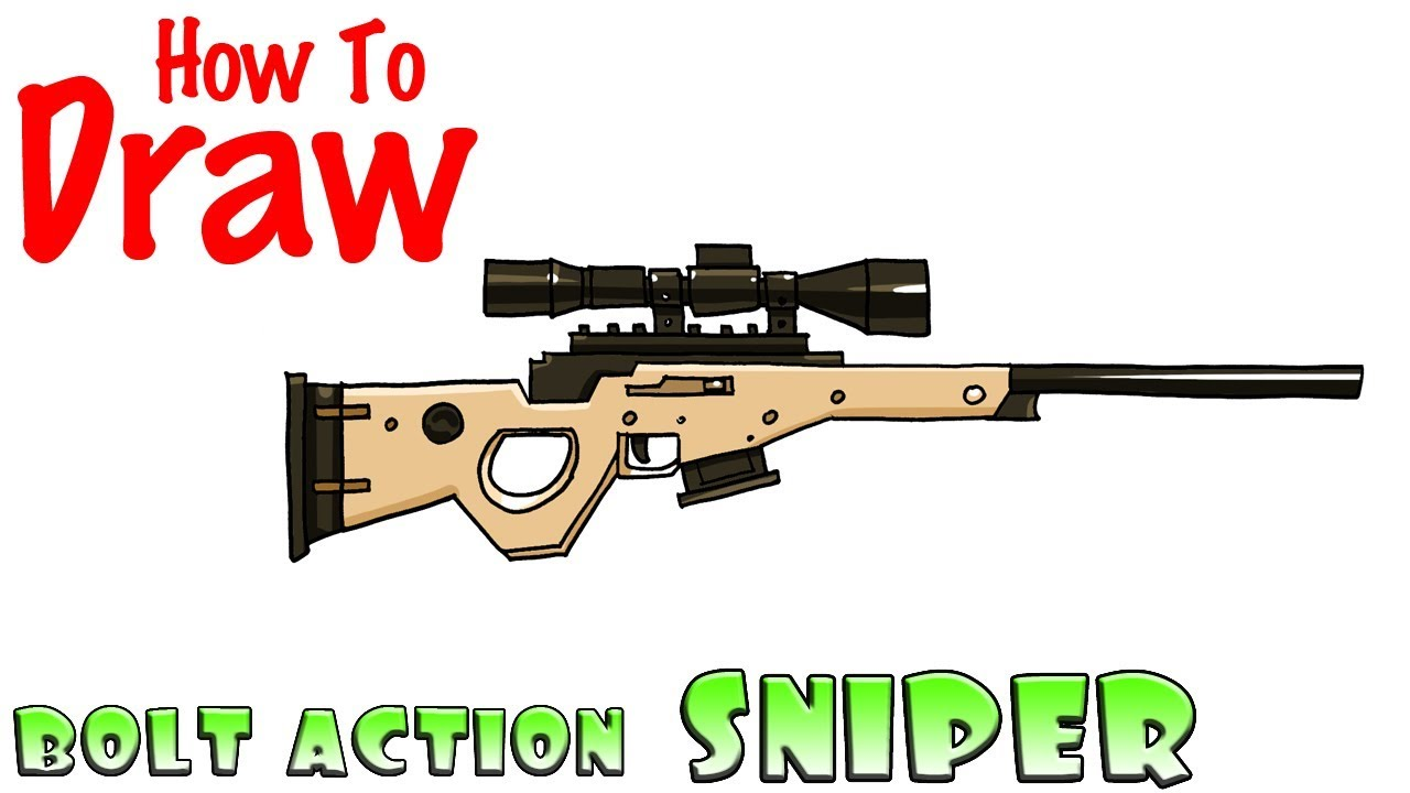 Sniper Rifle Drawing At Getdrawings Com Free For Personal Use