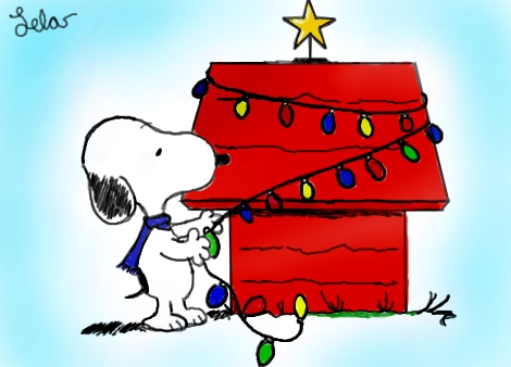 470x338 Snoopy Merry Christmas Drawing Merry Christmas Amp Happy New Year Arts