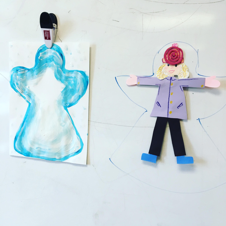 3000x3000 Third Grader Snow Angels Tinyartroom